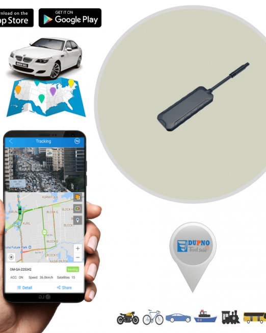 Dupno Lite All In One GPS Tracker