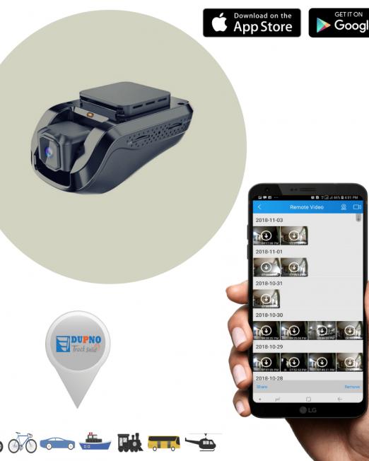 9. Dupno Standard Dash Camera Video Tracking System-min