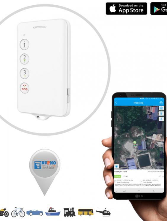 DUPNO Smart ID Card Phone Tracker