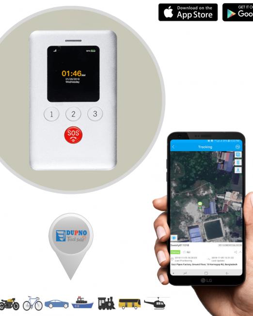 14. Dupno SMART Standard 4G ID CARD Tracking System-min