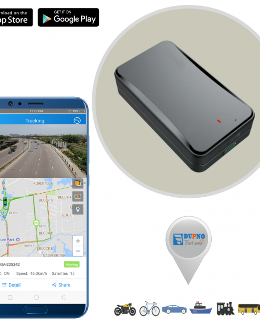 DUPNO 3G Asset GPS Tracker with Long Standby Time